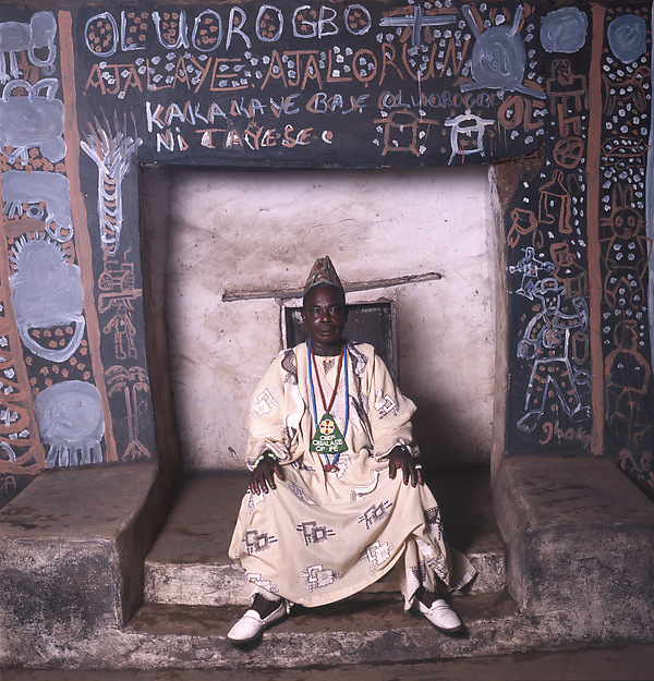 Priest of Oluorogbo, Ife, Nigeria 